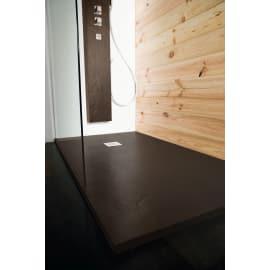 Piatto doccia resina Pizarra 100 x 100 cm cacao