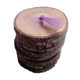 Rondella 10 pz legno Ø 5-6 cm grezzo