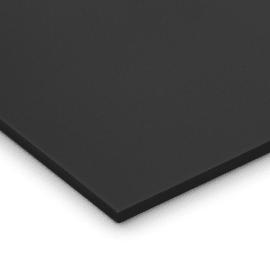 Lastra gomma crepla nero 29,7 x 42  mm, spessore 10 mm
