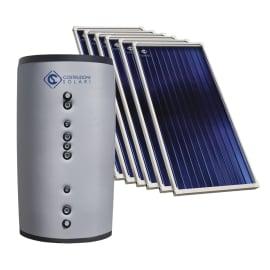 Impianto solare termico a circolazione forzata Costruzioni Solari Combi