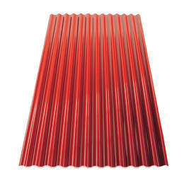 Lastra Ecoltherm Rosso Siena in polimglass 110 x 200  cm, spessore 14 mm