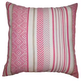 Cuscino grande Brise rosa 50 x 50 cm