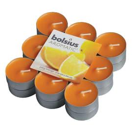 Tealight confezione 18 pezzi essenza arancia