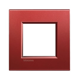 Placca 2 moduli BTicino Livinglight brick