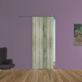 Porta da interno scorrevole Dogato/binario Lux 88 x H 215 cm sx