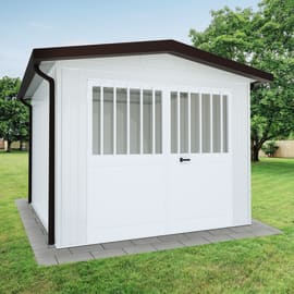 Garage in metallo Newport, 16,1 m²