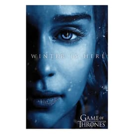 """Poster Game of Thrones - """"Winter is here Daenery"""" 61 x 91,5 cm"""