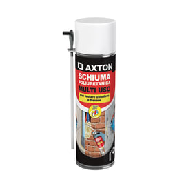 Schiuma poliuretanica Axton bianco 0,5 L