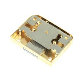 Serratura da applicare ottone lucido 56 x 25 x 9,5 mm