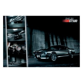 Poster Ford Mustang GT500 91,5 x 61 cm