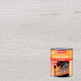 Vernice per esterno ad acqua Syntilor bianco brillante 1 L