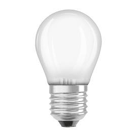 Lampadina LED Osram E27 =60W sfera luce calda 300°