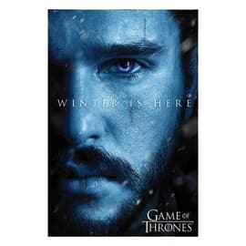 """Poster Game of Thrones - """"Winter is here Jon"""" 61 x 91,5 cm"""