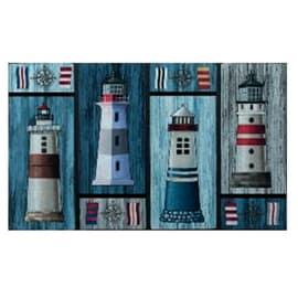 Zerbino eco lighthouses colori assortiti 45 x 75 cm