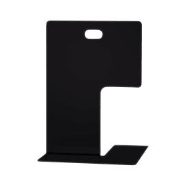 Fermalibri nero L 14 x H 19,5 x P 15,5 cm