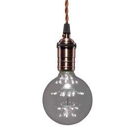 Lampadina decorativa LED Lexman E27 =20W globo luce fredda 360°