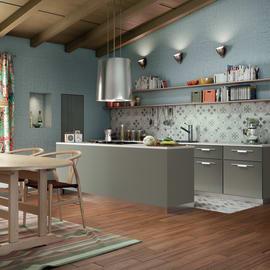 Cucina Delinia Monza Acciaio