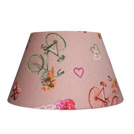Paralume per lampada da tavolo personalizzabile Impero bici beige