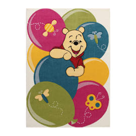 Tappeto Winnie party premium multicolore 133 x 190 cm