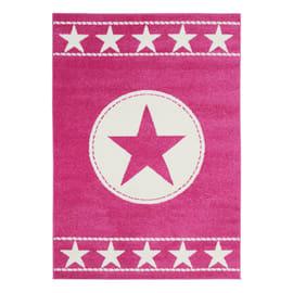 Tappeto Star kids fucsia, rosa 115 x 170 cm