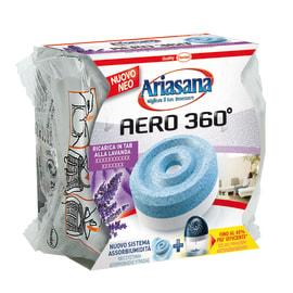 Assorbiumidità Ariasana Aero 360° tab lavanda 450 g