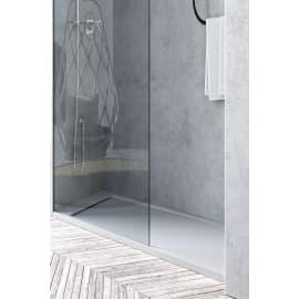 Piatto doccia resina River 90 x 70 cm bianco