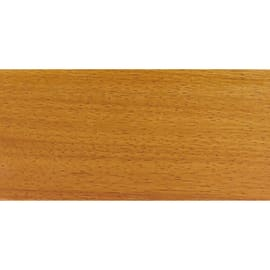Battiscopa impiallacciato verniciato doussie 10 x 70 x 2400 mm