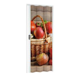 Porta a soffietto Fruit fantasia L 89.5 x H 214 cm