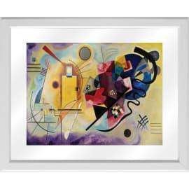 Quadro in vetro con cornice Kandinsky 45,5x55,5