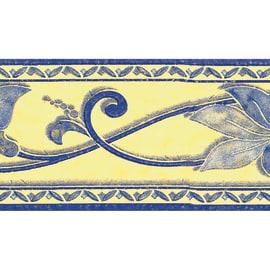 Bordo Fiore azzurro 5 m
