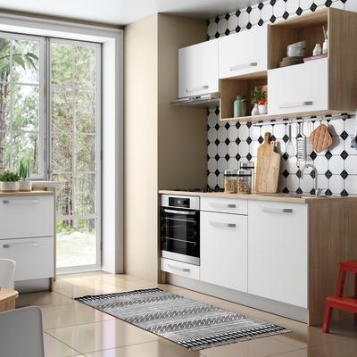 Cucina one bianco l 180 cm l 120 cm prezzi e offerte - Moduli componibili cucina ...