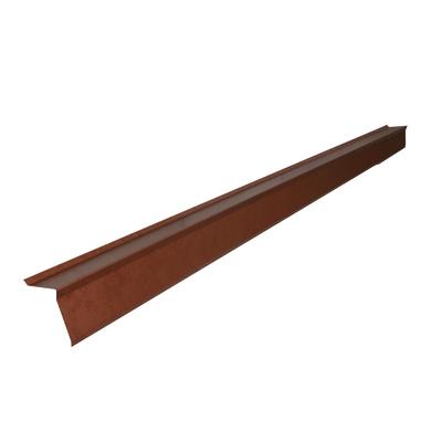 Bordura in alluminio color rame 15 x 15 cm l 200 cm for Bordura leroy merlin