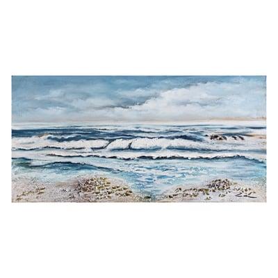 Quadro dipinto a mano mare 60x120 prezzi e offerte online for Quadri moderni leroy merlin