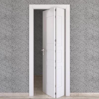 Porta da interno pieghevole asimmetrica alioth bianco 80 x for Porte da interno leroy merlin