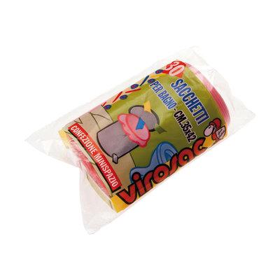 Sacco rifiuti sacchetti per bagno 42 x 35 cm rosa 30 pezzi - Pezzi per bagno ...