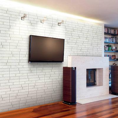 Rivestimento decorativo muro bianco prezzi e offerte - Rivestimento decorativo pareti ...