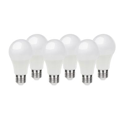 6 lampadine led lexman e27 100w goccia luce calda 200