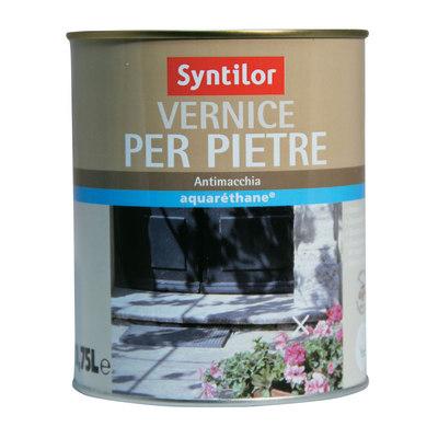 Vernice per pietre syntilor trasparente opaco 0 75 l for Vernice per plastica leroy merlin