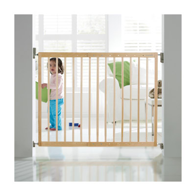 Cancelletto extending wood in legno l 64 106 cm prezzi e for Cancelletti per bambini amazon