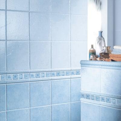 Piastrella per 20 x 20 cm azzurro prezzi e offerte online leroy merlin - Piastrelle economiche per bagno ...