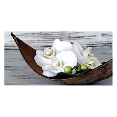Quadro su tela wood orchid 30x60 prezzi e offerte online for Leroy merlin quadri tela