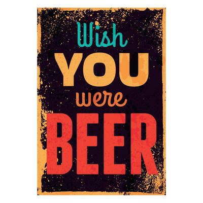Quadro su tela wish beer 24x35 prezzi e offerte online for Leroy merlin quadri tela