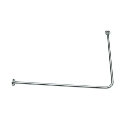 bastone reggitenda per doccia vasca 80 x 80 90 cm silver