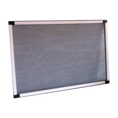zanzariera in kit estensibile bianco l da 70 a 132 x h 50