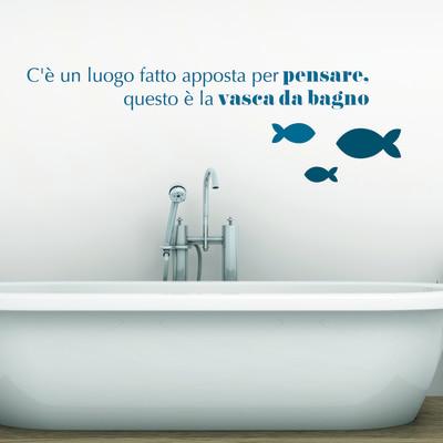 Sticker words up l bathroom pensare prezzi e offerte for Fotomurali leroy merlin