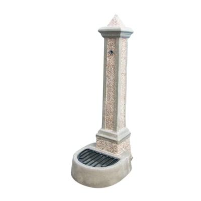 Fontana a colonna giorgia grigia prezzi e offerte online leroy merlin - Fontana a colonna da giardino ...