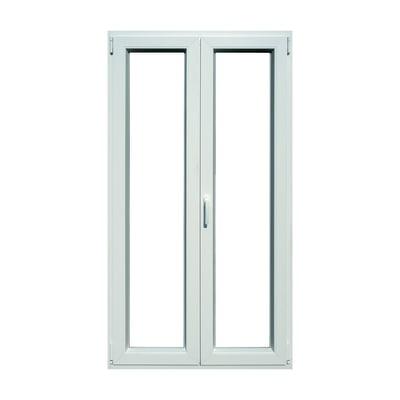 Portafinestra pvc bianco l 120 x h 220 cm prezzi e offerte online leroy merlin - Stock finestre pvc ...