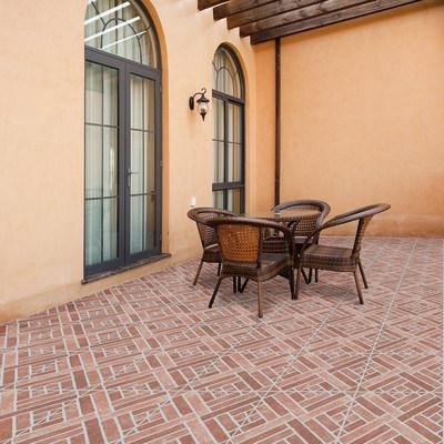 Piastrella mattone 31 x 31 cm rosso prezzi e offerte for Leroy merlin pavimenti gres effetto legno