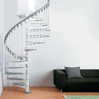 Scala a chiocciola steel bianco prezzi e offerte online leroy merlin - Cancelletti per scale a chiocciola ...