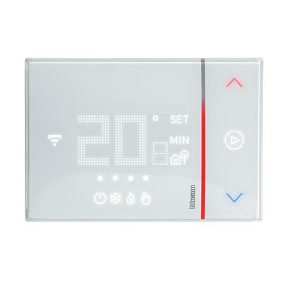 Cronotermostato bticino smarther sx8000w da parete wi fi for Termostato bticino thermo p
